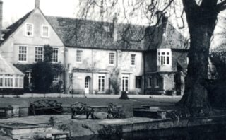 Ware Priory - from the river   Hertfordshire Archives and Local Studies