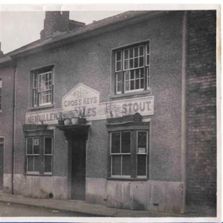 The Cross Keys Inn - demolished to make way for the Cattle Market | Hertford Museum