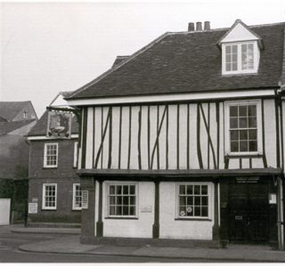 The White Hart Inn - survived the establishment of Hertford Cattle Market | Hertford Museum