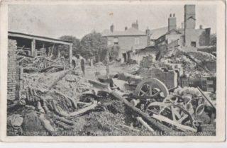 Great Sawmill Fire 1907