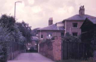 The original Cross Lane | (c) Peter Ruffles