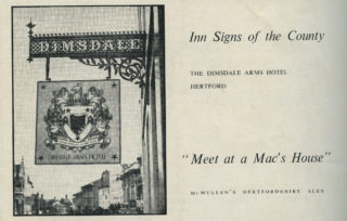 Advert from Herts Countryside, 1952 | Hertfordshire Archives and Local Studies