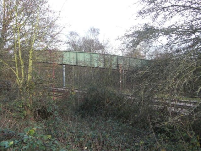Footbridge from Path | Geoffrey Cordingley