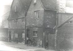 Park Road 1936 (Hitch Brick Chimney,Rank Cintel Factory in 1984)