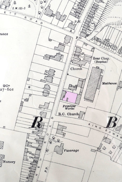 OS map, 1920s | Herts Archives