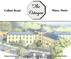 Sales particulars for the Octagon 1995 | Hertfordshire Archives and Local Studies