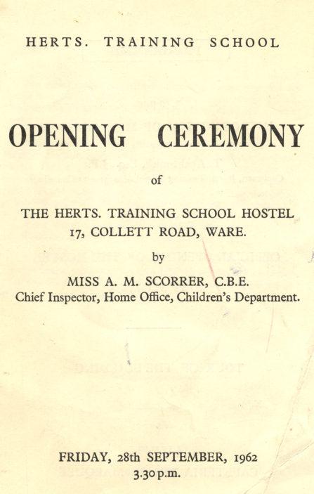 Herts Training School Hostel, Ware