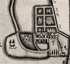 The old house in a map of 1798 | Hertfordshire Archives & Local Studies