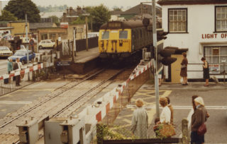 By the railway crossing | Herts Archives & Local Studies
