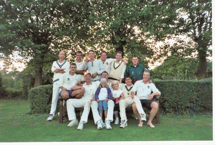 Division winning side - 2001