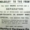 Hertford in September 1914