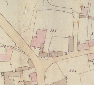 Thunder Hall on the Ware tithe map of 1835 | Hertfordshire Archives & Local Studies