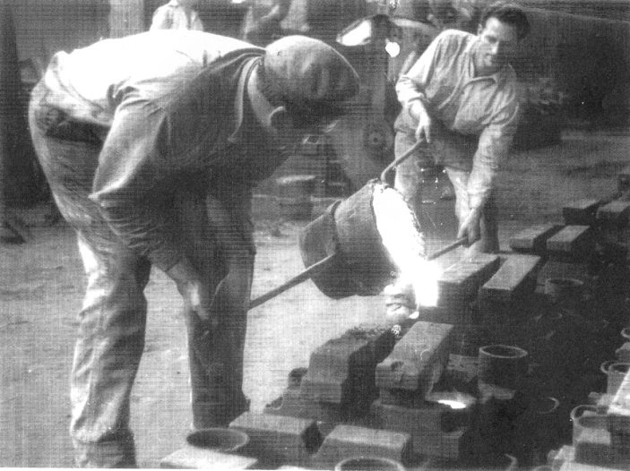 Tony Wren and Maurice Hart