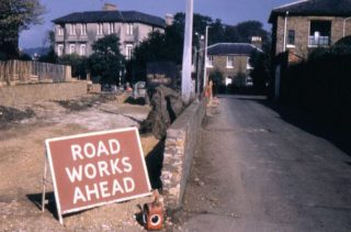 Cross Road widened | (c) Peter Ruffles